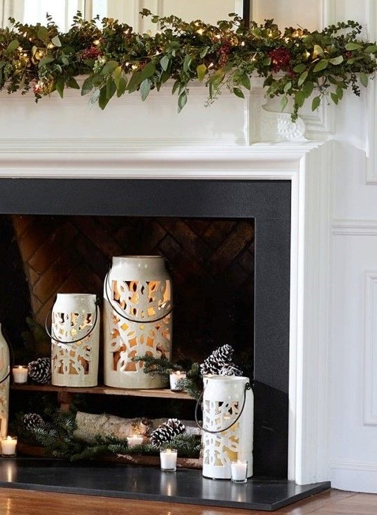 Fireplace Mantle Makeovers