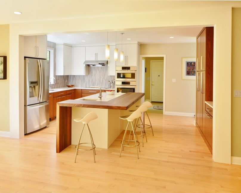 Cool Modern Kitchen Remodel in Holliston